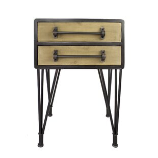 Coulter End Table by Williston Forge