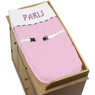 Best Price Paris Changing Pad Cover BySweet Jojo Designs