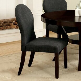 Tyrion Upholstered Dining Chair (Set of 2) by Alcott Hill