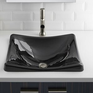 DemiLav Metal Specialty Vessel Bathroom Sink