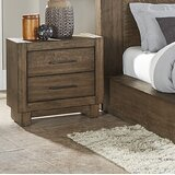 Albro 2 Drawer Nightstand by Foundry Select