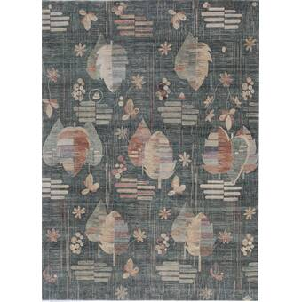 Union Rustic Maliyah Hand Knotted Ivory Rug Wayfair