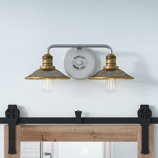 Read Reviews Felicienne 2-Light Vanity Light By 17 Stories