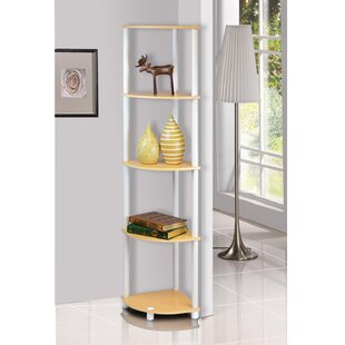 Multipurpose Display Corner Bookcase (Set Of 2) By Symple Stuff
