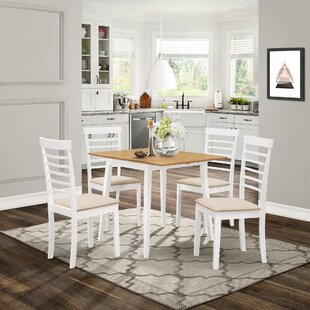 Review Mcneill Extendable Dining Set With 4 Chairs