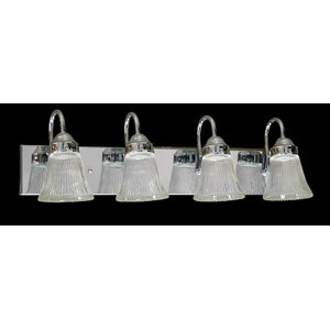 Emington 4-Light Bell Shape Vanity Light