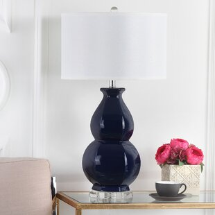 navy table lamp desk quickview navy blue table lamps wayfair