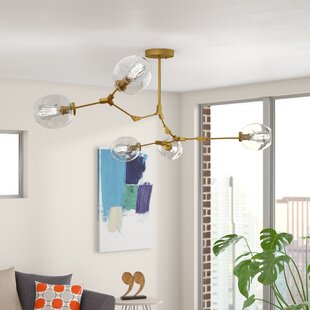 Brayden Studio Daren 5-Light LED Shaded Chandelier