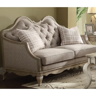 Taglieri Loveseat with Pillow By One Allium Way