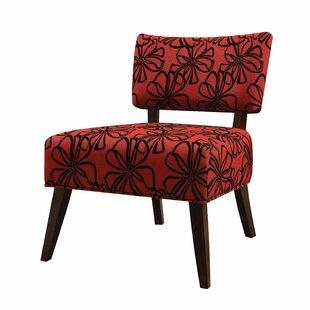 Latitude Run Montevideo Slipper Chair