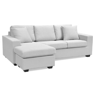 Herrin Reversible Corner Sofa By Mercury Row
