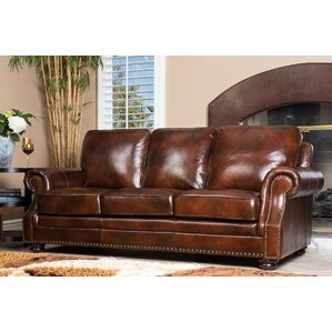 Barrview Leather Sofa
