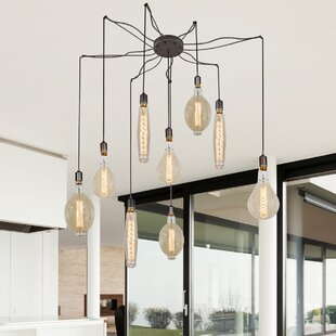Dall 9-Light Cluster Pendant by 17 Stories