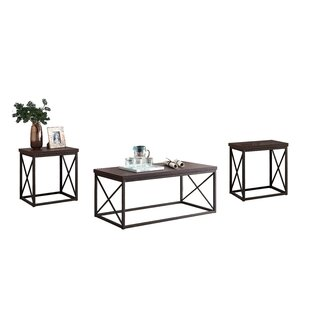Peltz 3 Piece Coffee Table Set
