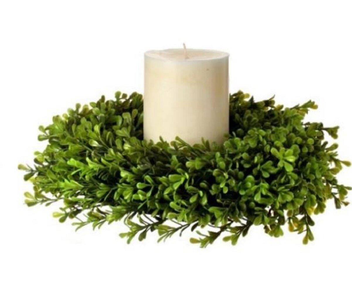 Gracie Oaks Regency Spring Candle Ring Wreath Reviews Wayfair