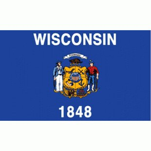 Wisconsin Traditional Flag By NeoPlex