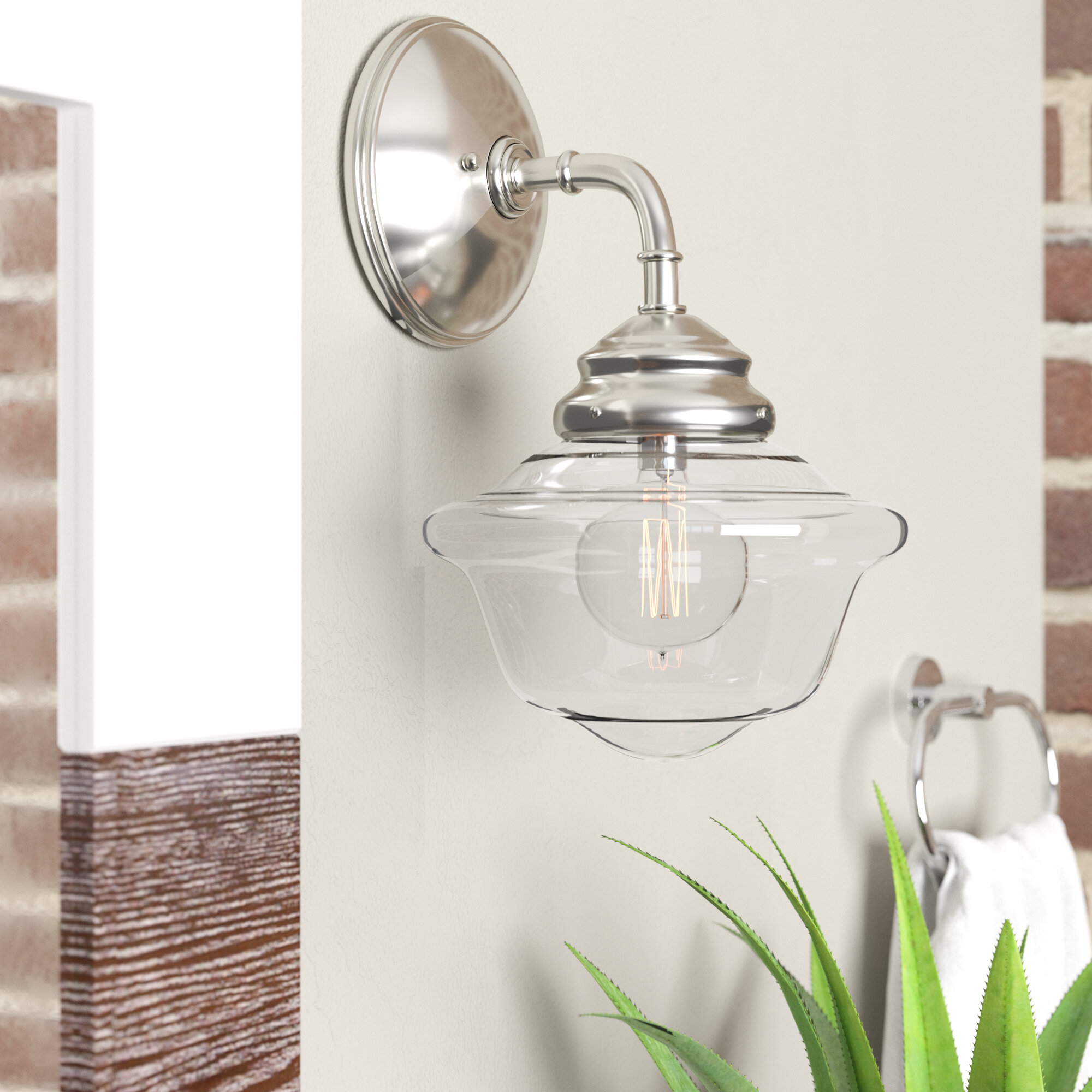 pretty nice 6be0d cf6d4 Schoolhouse Sconce | Wayfair