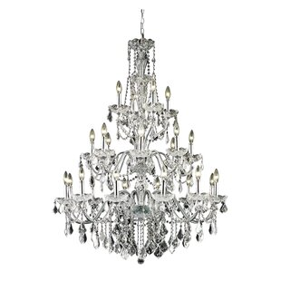 Thao 24-Light Crystal Chandelier by Rosdo..