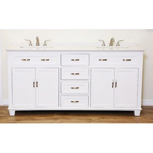 Polly 60 Double Bathroom Vanity Set by Alcott Hill