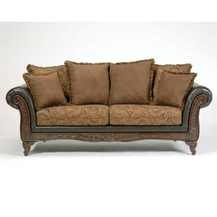 Oswego Espresso Sofa by Astoria Grand