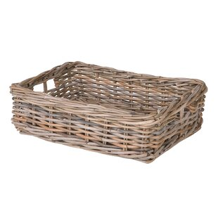 Shop For Mowery Shelf & Under Bed Rattan Basket By August Grove