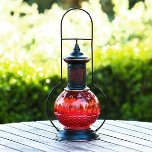 Metal Lantern By Alpine