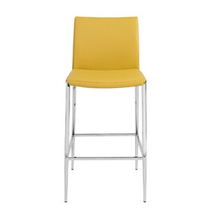 Aucoin 26 Bar Stool by Orren Ellis New