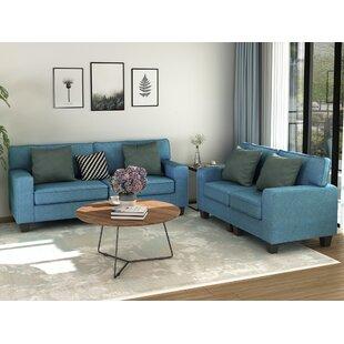 Afsana 2 Piece Standard Living Room Set By Latitude Run