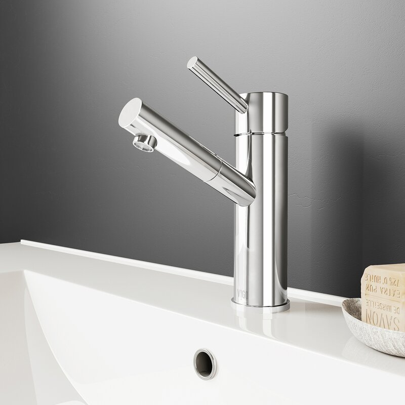 Noma Single Hole Bathroom Faucet