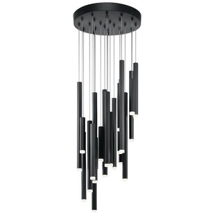 Montagu 24-Light LED Cluster Pendant by Brayden Studio