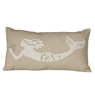 Amesbury Mermaid Embellished Pillow Cover