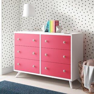 Dealba 6 Drawer Double Dresser