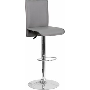 Best Reviews Crotty Mid Back Adjustable Height Swivel Bar Stool by George Oliver Reviews (2019) & Buyer's Guide