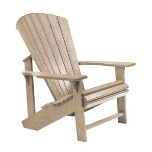 Trinidad Plastic Adirondack Chair by Bay Isle Home
