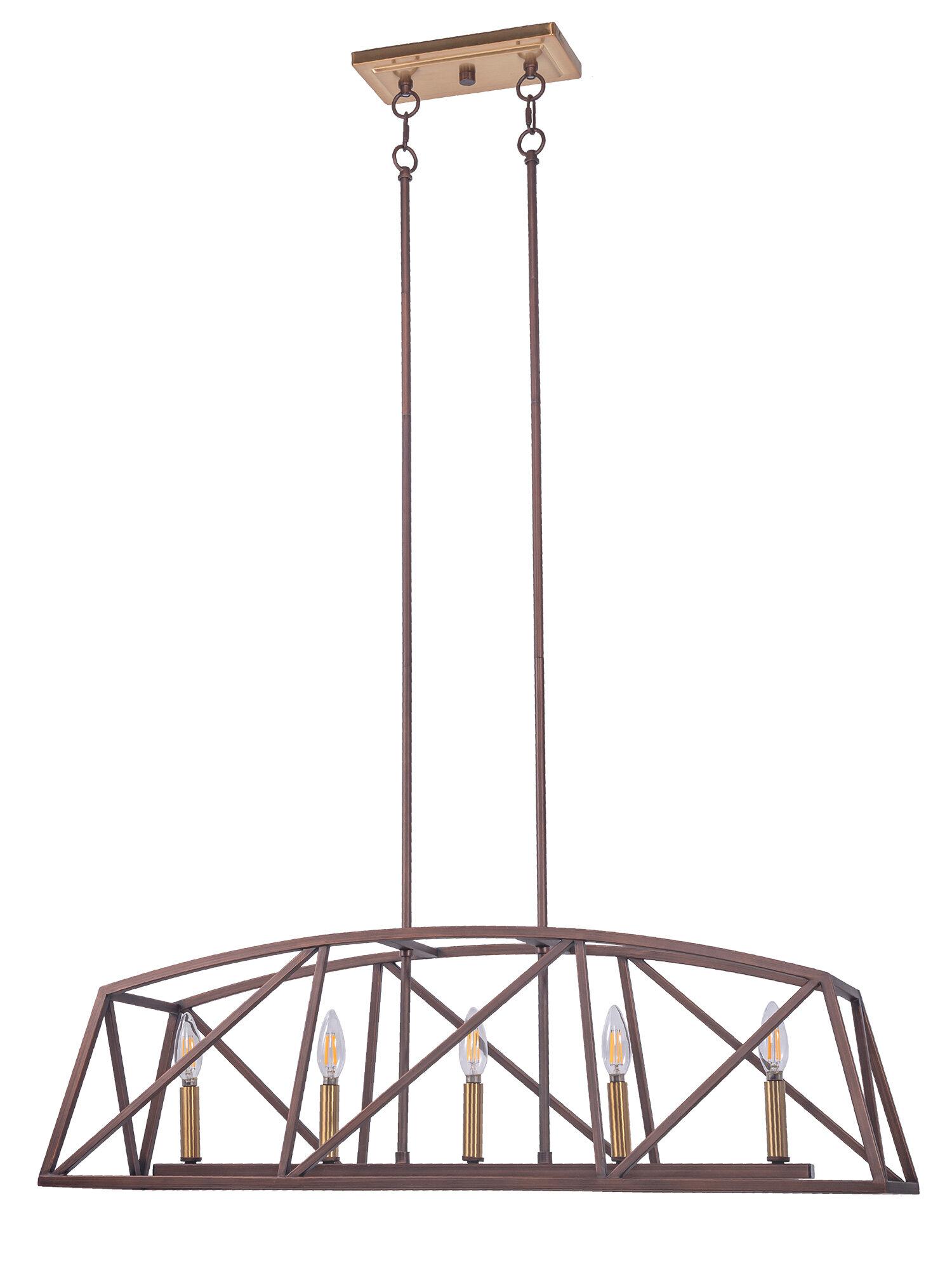 4 6 Light Wrought Iron Kitchen Island Lighting You Ll Love In 2021 Wayfair
