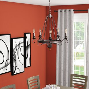 Allston 5-Light Chandelier by Fleur De Lis Living