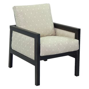 Leona Gold Coast Patio Dining Chair with Cushion