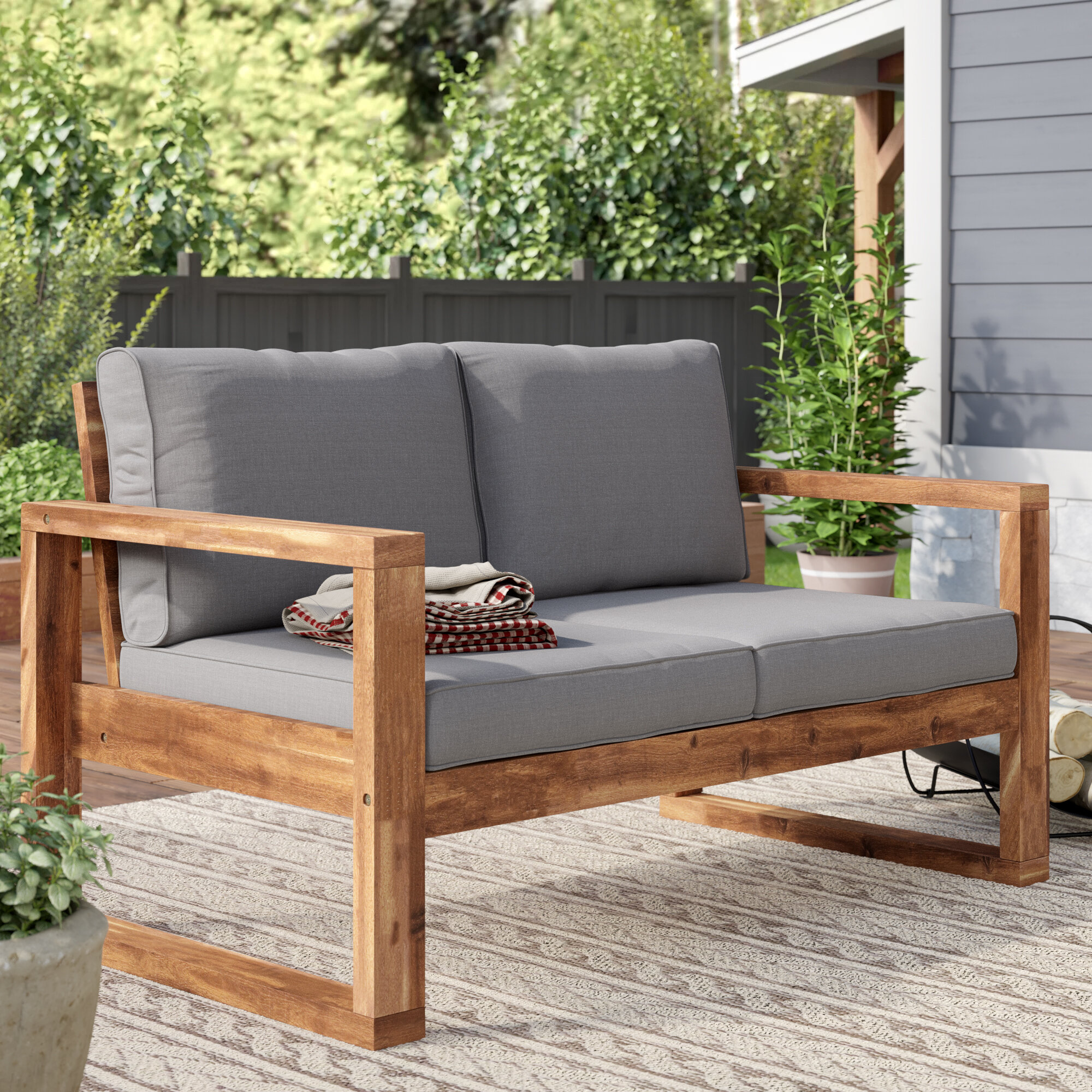 Picture of: Patio Loveseats You Ll Love In 2020 Wayfair