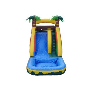 JumpOrange Tropical Aloha Xtreme Wet/Dry Water Slide
