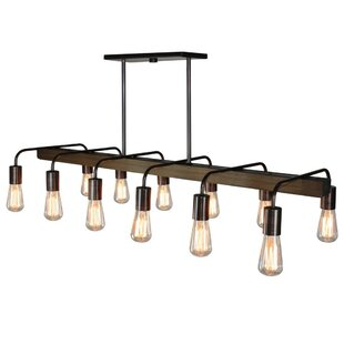 Lynwood 12-Light Kitchen Island Pendant by Artcraft Lighting