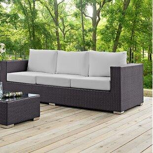 Ryele Patio Sofa with Cushions by Latitude Run