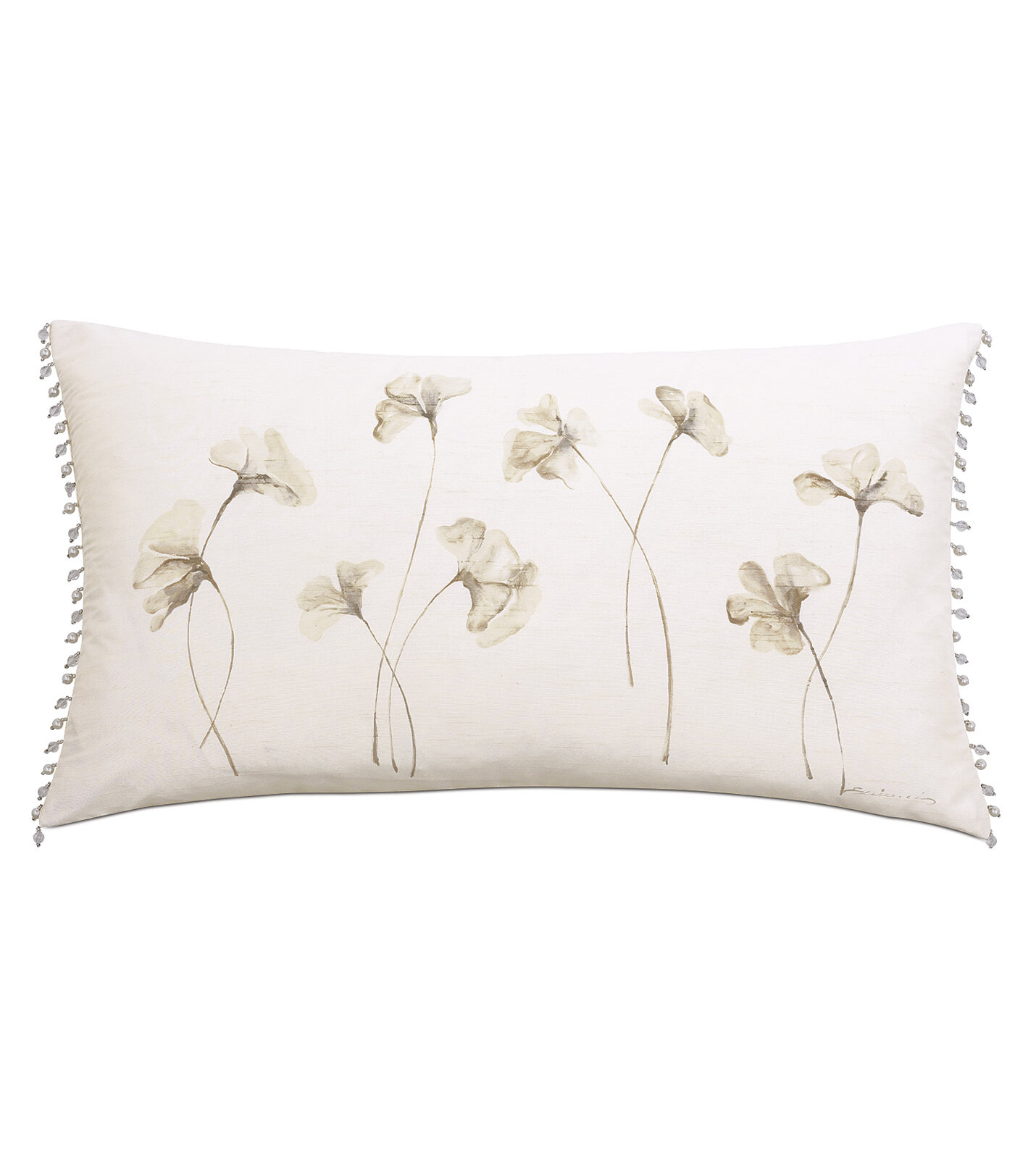 Lumbar Silk Throw Pillows You Ll Love In 2021 Wayfair