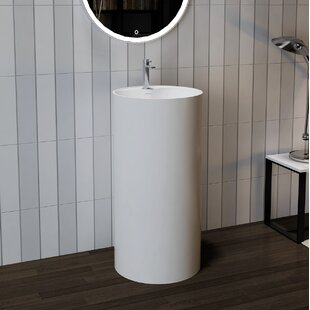 using powder forest stone unusual is an sink material in the pin pedestal room by