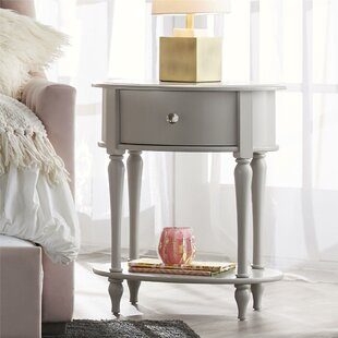 Check Prices Rowan Valley Laren Oval 1 Drawer Nightstand by Little Seeds Reviews (2019) & Buyer's Guide