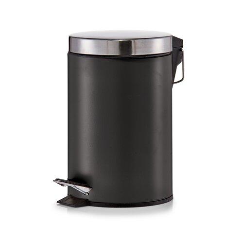 Firefix Mülleimer, oval, schwarz, ca. 12,5 Liter