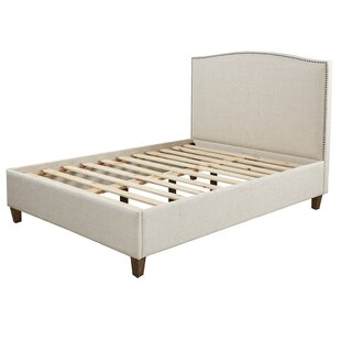 Emerson Queen Upholstered Platform Bed by Harbor House
