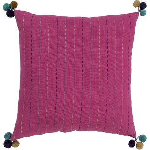 Dhaka Embroidered Cotton Pillow Cover