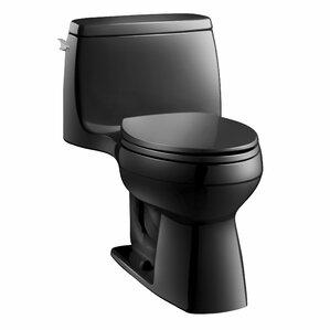 santa rosa comfort height onepiece compact elongated 128 gpf toilet with aquapiston flush technology
