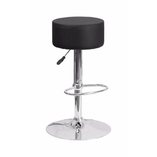 Price comparison Adjustable Height Swivel Bar Stool by Offex Reviews (2019) & Buyer's Guide