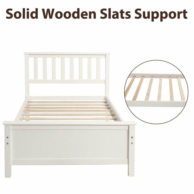 Highland Dunes Stehle Twin Platform Bed Wayfair